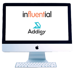 Monitor representing Addigy training by Influential Software